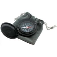 Deluxe Black Matte Pocket Compass
