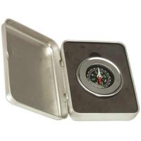 Silver Executive Compass