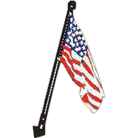 Wood ball USA flag kit