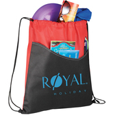 Rivers Non-Woven Drawstring Sportspack