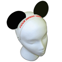 Mouse Ears with Elastic Band