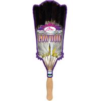 Broom / Native Feather Fan (Sandwich/2 Layer)