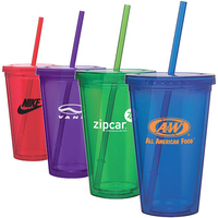 Clearwater Colors - 16 oz Acrylic Tumbler