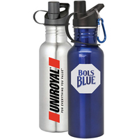 Glendale - 25 oz Stainless Steel Sports Bottle