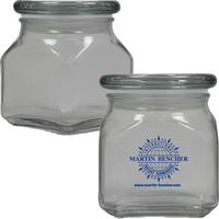 Small Glass Apothecary Jar Empty