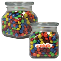 Glass Apothecary Candy Jar with Chocolate Littles