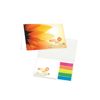Mylar Flag and Notepad Booklet