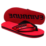 Flip Flop - Collegiate 3-Layer with Fabric Straps