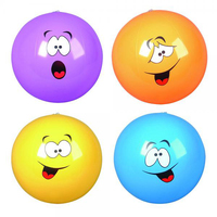"16"" Silly Face Beach Ball"
