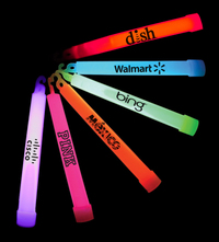 """6"""" Light Up Glow Stick With Lanyard - E506"""