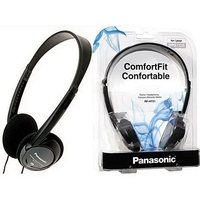 Panasonic RPHT21 Lightweight Headphones w/XBS(R) Extra Bas