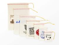 Natural Cotton Drawstring Bag