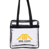 Stadium Approved Clear Tote