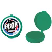 Green Empty Plastic Pill Box or Pillbox Case