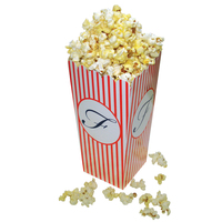 Large Scoop Style Popcorn Box