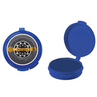 Hook-N-Go Plastic Pillbox Case - Empty