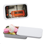 Candy Tin with Conversation Hearts