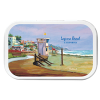 Beach Kit Necessities Tin with SPF30 Sunscreen Suntan Lotion