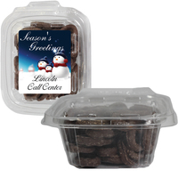 Square Safe-T Fresh Container With Chocolate Pretzels