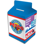 Milk Carton Bank - Custom Designed