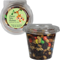 Round Safety Fresh Container With Trail Mix