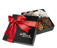 4 Cavity Gift Box with Assorted Mini Pretzels
