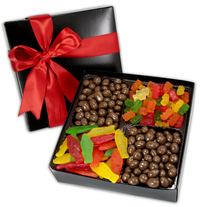 4 Cavity Gift Box with Gourmet Confections