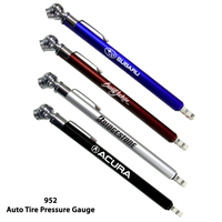 AutoTire Gauge With Chrome Colored Barrel & Variety