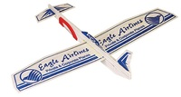 Reverso Balsa Airplane Glider - 12 in. w/ Canard Wing