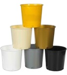 Blank Plastic Offering Bucket / Popcorn Pail - 176 oz