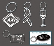 Custom Shaped Acrylic Key Tag