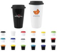 coffee mug, travel mug, ceramic mug, porcelain mug, mug with silicone lid,...