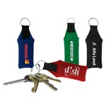 Floating Neoprene Key Tag with Split-ring