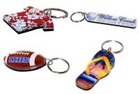 custom shaped wood keytag, wood keychain, custom cut shape wood