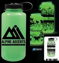 glow in the dark, nalgene bottle, Nalgene water bottle, wide mouth bottle,...