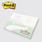3 x 4 Full Color Post-it Note Pads