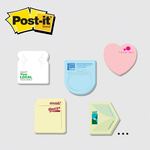 Small Die Cut Post-it Note Pads