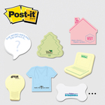 Large Die cut Post it Note Pads