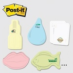 Extra Large Die cut Post it Note Pads