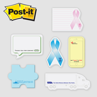 Jumbo Die cut Post it Note Pads