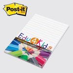 4 x 6 Full Color Post-it Note Pads