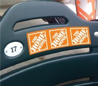 seat decal, chair sticker, stadium seat printing