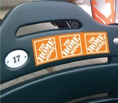Ultra Removable Vinyl Decals for Plastic Seats