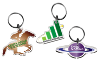 Custom Shaped Direct Print Acrylic Key Chains