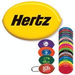 Vinyl Squeeze Coin Holder - Oval Quikoin®