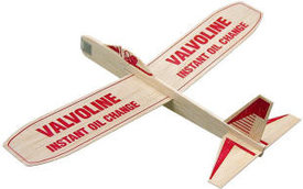 Custom Printed Balsa Airplanes