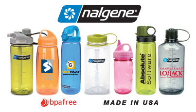 Nalgene Water Bottles custom imprinted