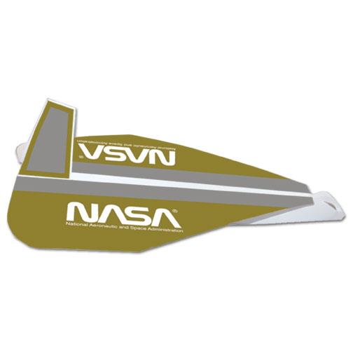 Space Shuttle / Spacecraft Shaped Paper / Cardboard Glider