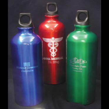 Engraved Aluminum Water Bottles Item Vsct22