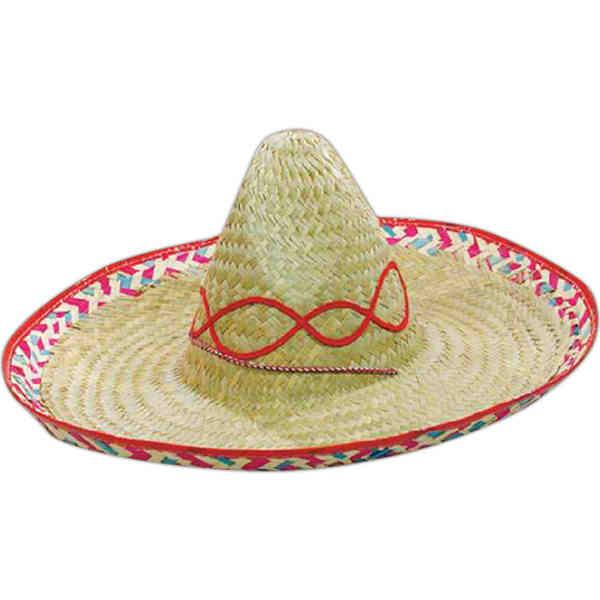 df262bbd3ce Sombrero Hat - Item  L-710 - ImprintItems.com Custom Printed ...
